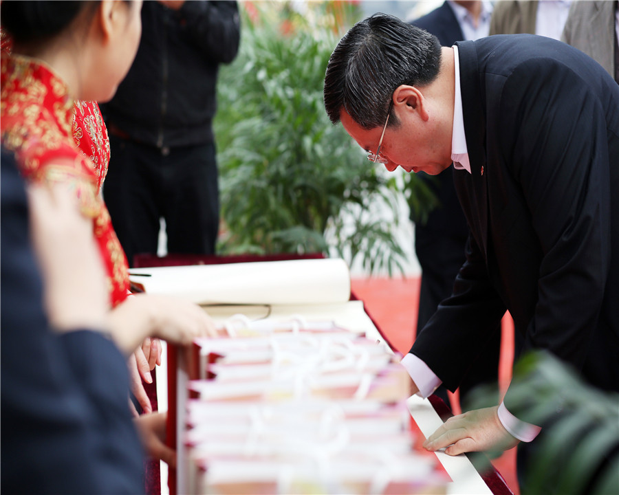 12.10.30莱钢建设嘉定城北保障房项目开工仪式